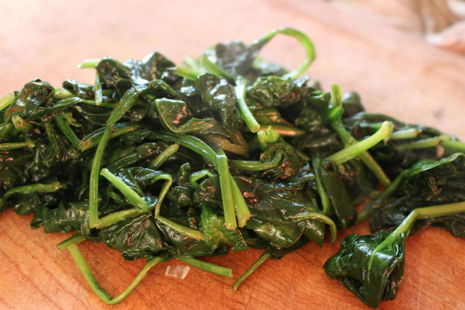 Chooped Spinach