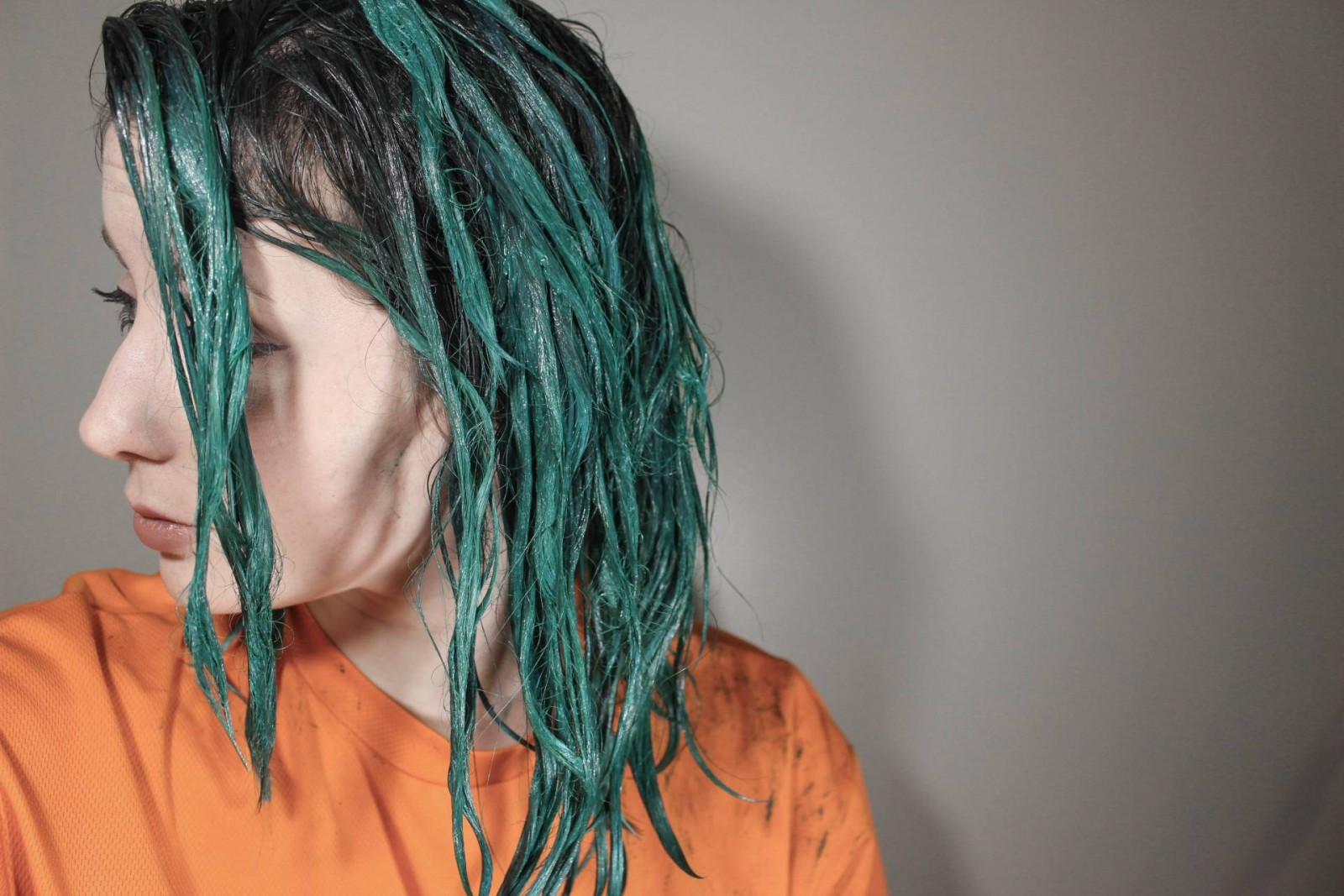 Green hair how to