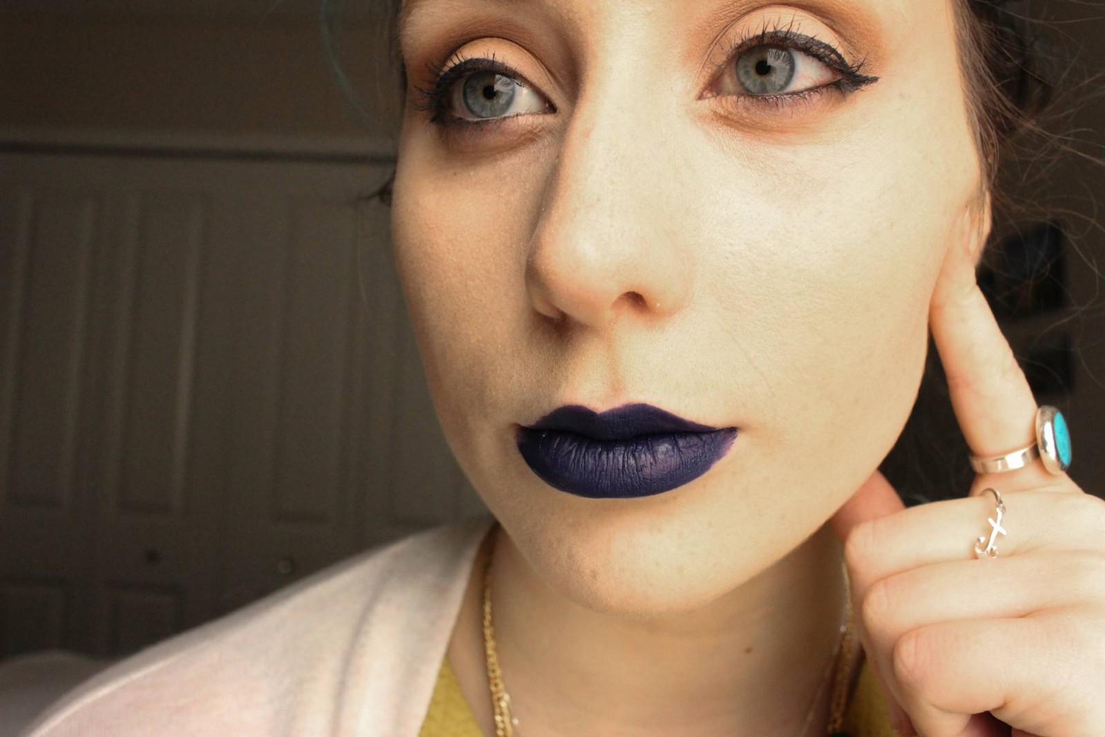 BLue Liquid lipstick